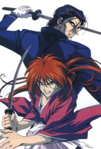 Rating: Safe Score: 5 Tags: himura_kenshin male rurouni_kenshin saitou_hajime saitou_hajime_(rurouni_kenshin) User: Feito