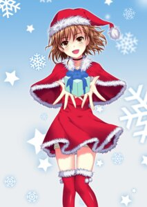 Rating: Safe Score: 27 Tags: christmas kamiko_to_seiryoku misaka_mikoto thighhighs to_aru_kagaku_no_railgun to_aru_majutsu_no_index User: SciFi