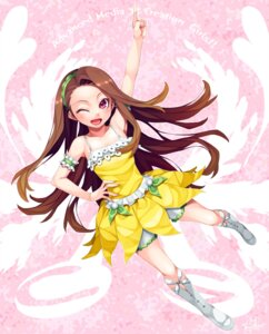 Rating: Safe Score: 22 Tags: happa_(cloverppd) minase_iori the_idolm@ster User: animeprincess