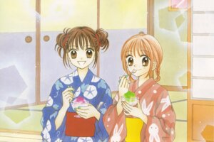 Rating: Safe Score: 3 Tags: bleed_through sakura_nina tateishi_ayu ultra_maniac yoshizumi_wataru yukata User: Radioactive