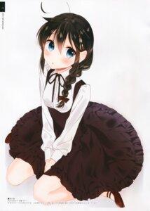 Rating: Safe Score: 20 Tags: dress gothic_lolita kantai_collection lolita_fashion moni naoto shigure_(kancolle) User: kiyoe