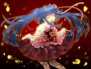 Rating: Safe Score: 12 Tags: blood dress furudo_erika kl lolita_fashion pantyhose umineko_no_naku_koro_ni User: fairyren