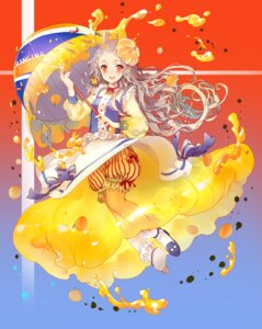 Rating: Safe Score: 23 Tags: anthropomorphization bloomers dress heels miemia orangina umbrella User: charunetra