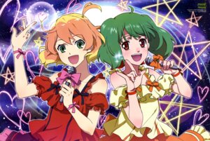 Rating: Safe Score: 28 Tags: dress freyja_wion macross macross_delta macross_frontier ranka_lee shirakawa_ayako User: drop
