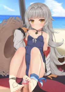 Rating: Explicit Score: 84 Tags: azur_lane cameltoe censored cum feet footjob loli open_shirt penis school_swimsuit swimsuits tagme tattoo undressing z46_(azur_lane) User: hiroimo2