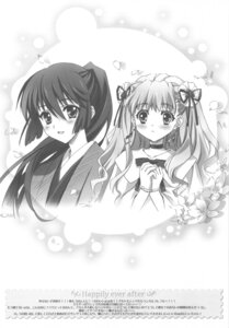 Rating: Safe Score: 9 Tags: carnelian macross macross_frontier monochrome saotome_alto sheryl_nome User: charunetra