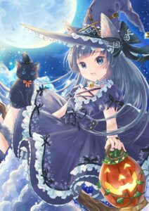 Rating: Safe Score: 14 Tags: animal_ears bunapi_(bunapii) halloween witch User: Mr_GT