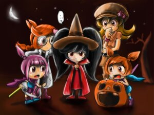 Rating: Questionable Score: 6 Tags: ana_(warioware) ashley_(warioware) davey-sama halloween kat_(warioware) megane mona_(warioware) penny_(warioware) warioware witch User: piejo66