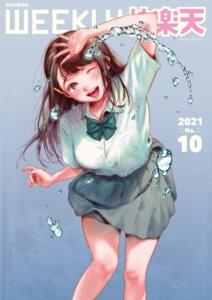 Rating: Questionable Score: 15 Tags: higashide_irodori seifuku wet_clothes User: 8mine8