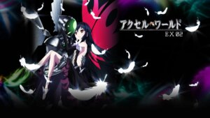 Rating: Safe Score: 22 Tags: accel_world armor dress kuroyukihime mecha no_bra silver_crow wallpaper wings User: SHM222