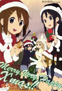 Rating: Safe Score: 43 Tags: akiyama_mio binding_discoloration christmas guitar hirasawa_yui horiguchi_yukiko k-on! kotobuki_tsumugi nakano_azusa tainaka_ritsu User: acas
