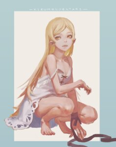 Rating: Safe Score: 29 Tags: dress fierce_ghost.y kissshot_acerolaorion_heartunderblade kizumonogatari monogatari_(series) pointy_ears summer_dress User: Spidey