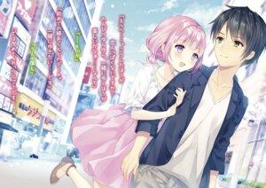 Rating: Safe Score: 16 Tags: pastel_pink. tagme wasabi_(artist) User: kiyoe