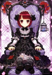 Rating: Safe Score: 63 Tags: dress fujima_takuya gothic_lolita lolita_fashion User: drop