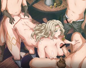 Rating: Explicit Score: 30 Tags: amazon censored dragon's_crown eckfxjanzh gangbang nipples penis sex thong topless User: blooregardo