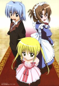 Rating: Safe Score: 18 Tags: ayasaki_hayate dress hayate_no_gotoku maid maria sanzenin_nagi User: vita