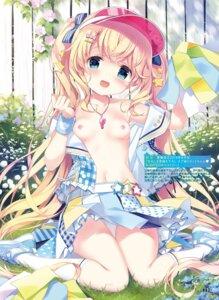 Rating: Questionable Score: 78 Tags: breasts kimishima_ao loli lynette nipples open_shirt pantsu skirt_lift User: Twinsenzw