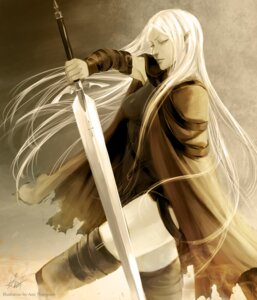 Rating: Safe Score: 18 Tags: ami_thompson claymore irene sword thighhighs User: Radioactive