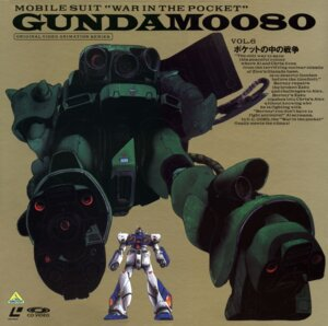 Rating: Safe Score: 2 Tags: disc_cover gundam gundam_0080 mecha User: Radioactive