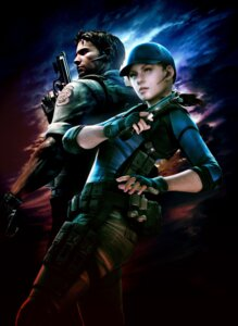 Rating: Safe Score: 19 Tags: cg chris_redfield gun jill_valentine resident_evil User: Radioactive