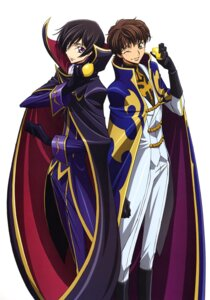 Rating: Safe Score: 12 Tags: code_geass kimura_takahiro kururugi_suzaku lelouch_lamperouge male User: Radioactive