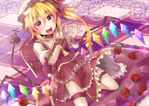 Rating: Safe Score: 15 Tags: flandre_scarlet garter rando_seru tail touhou wings User: mattiasc02