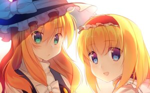 Rating: Safe Score: 27 Tags: alice_margatroid kirisame_marisa niwashi touhou witch User: Mr_GT