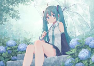 Rating: Safe Score: 63 Tags: hatsune_miku mimengfeixue umbrella vocaloid User: BattlequeenYume