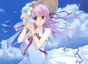 Rating: Safe Score: 38 Tags: august dress estel_freesia kuga_tsukasa summer_dress yoake_mae_yori_ruriiro_na User: crim