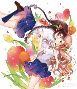Rating: Safe Score: 38 Tags: futari_beya seifuku yukinokoe yuri User: Mr_GT
