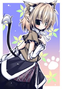 Rating: Safe Score: 8 Tags: animal_ears futase_hijiri mizuhashi_parsee nekomimi tail touhou User: Radioactive