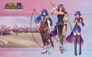 Rating: Safe Score: 15 Tags: armor cleavage dress eyepatch fire_emblem fire_emblem:_shin_monshou_no_nazo izuka_daisuke katarina_(fire_emblem) malice nintendo sheeda sword thighhighs wallpaper weapon User: fly24