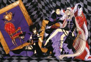 Rating: Safe Score: 15 Tags: chii chobits clamp dita feet fixed freya gothic_lolita jima lolita_fashion stockings thighhighs User: MosquitoJack