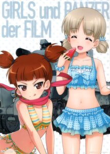 Rating: Safe Score: 22 Tags: aki_(girls_und_panzer) bikini girls_und_panzer mikko_(girls_und_panzer) swimsuits User: drop