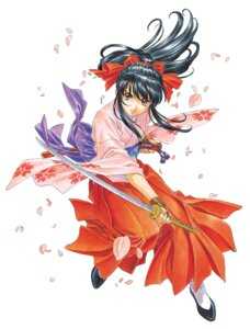 Rating: Safe Score: 12 Tags: japanese_clothes sakura_taisen shinguuji_sakura sword User: saemonnokami