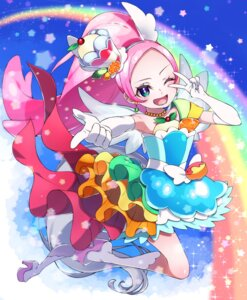 Rating: Safe Score: 10 Tags: dress heels kirahoshi_ciel kirakira_precure_a_la_mode pretty_cure wings yupiteru User: Mr_GT