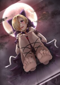 Rating: Questionable Score: 32 Tags: casino_(artist) dicebomb dress feet pantsu shirasaka_koume the_idolm@ster the_idolm@ster_cinderella_girls torn_clothes User: kiyoe