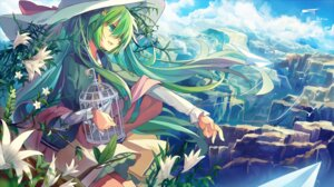 Rating: Safe Score: 34 Tags: ane_niku hatsune_miku landscape vocaloid User: Zenex