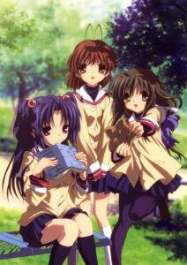 Rating: Safe Score: 25 Tags: clannad furukawa_nagisa ibuki_fuuko ichinose_kotomi seifuku User: sdlin2006