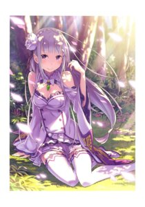 Rating: Safe Score: 49 Tags: cleavage emilia_(re_zero) ootsuka_shinichirou pointy_ears re_zero_kara_hajimeru_isekai_seikatsu thighhighs User: NotRadioactiveHonest