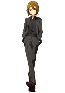 Rating: Safe Score: 11 Tags: business_suit crossdress k-on! kicchi_(tmgk) tainaka_ritsu User: Radioactive