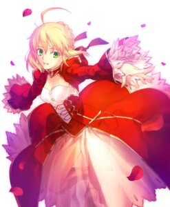 Rating: Safe Score: 39 Tags: fate/extra fate/stay_night saber_extra takeuchi_takashi type-moon User: demonbane1349
