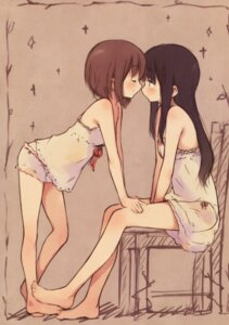 Rating: Questionable Score: 70 Tags: feet kyuri lingerie pantsu yuri User: 麻里子