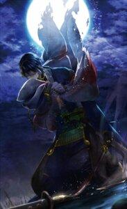 Rating: Safe Score: 17 Tags: asian_clothes male mikazuki_munechika suz sword touken_ranbu User: charunetra