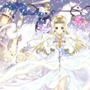 Rating: Safe Score: 9 Tags: arche_klein cless_alvein mint_adnade tales_of tales_of_phantasia User: Radioactive