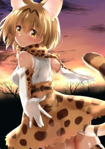 Rating: Safe Score: 26 Tags: animal_ears go-1 kemono_friends serval tail User: Mr_GT