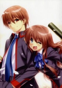 Rating: Safe Score: 8 Tags: little_busters! seifuku tagme User: kiyoe
