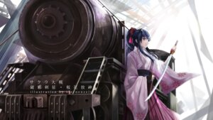 Rating: Safe Score: 16 Tags: japanese_clothes sakura_taisen shinguuji_sakura sternenzelt sword User: saemonnokami