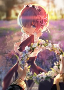 Rating: Safe Score: 93 Tags: avamone maid re_zero_kara_hajimeru_isekai_seikatsu rem_(re_zero) User: Mr_GT