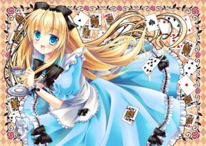 Rating: Safe Score: 29 Tags: alice alice_in_wonderland dress mizuki_yuuma User: 椎名深夏